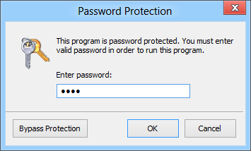 Program Protector Screenshot
